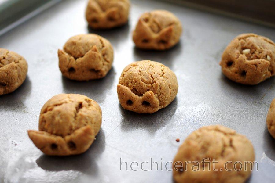 Galletas De Maní De 3 Ingredientes Sin Gluten Hechicerafit Com