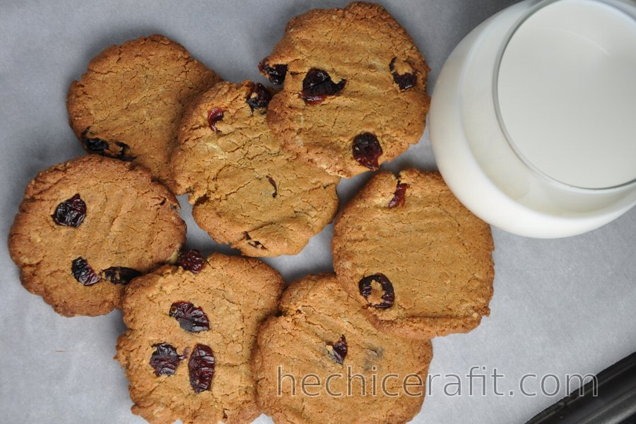 Las mejores galletas saludables crujientes de garbanzo sin harina (sin gluten)