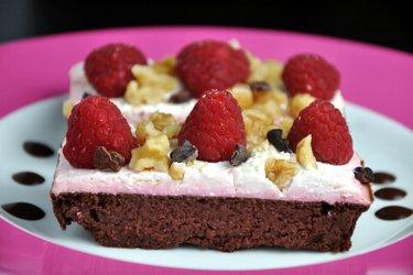 Pastel de cacao y remolacha (sin gluten)