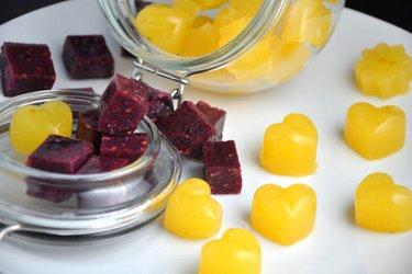 Caramelos saludables hechos en casa