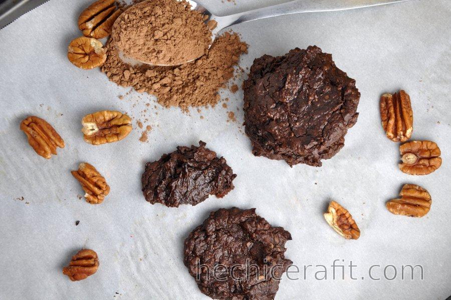Galletas de aguacate y cacao (sin gluten)