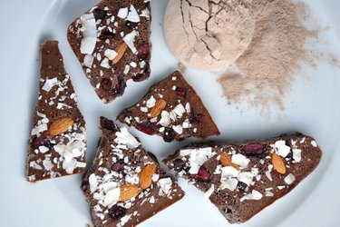 """Chocolate"" de proteínas sin azúcar"