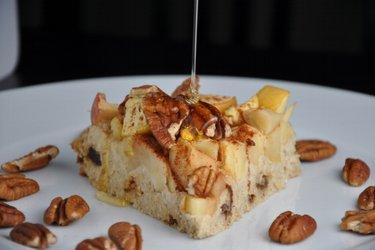 Pastel de avena y manzanas (sin gluten)