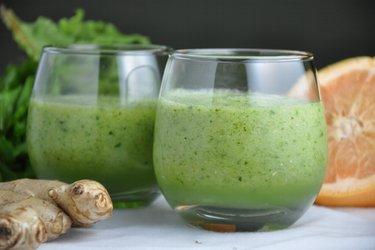 "Batido verde de ""Vitamina C"""