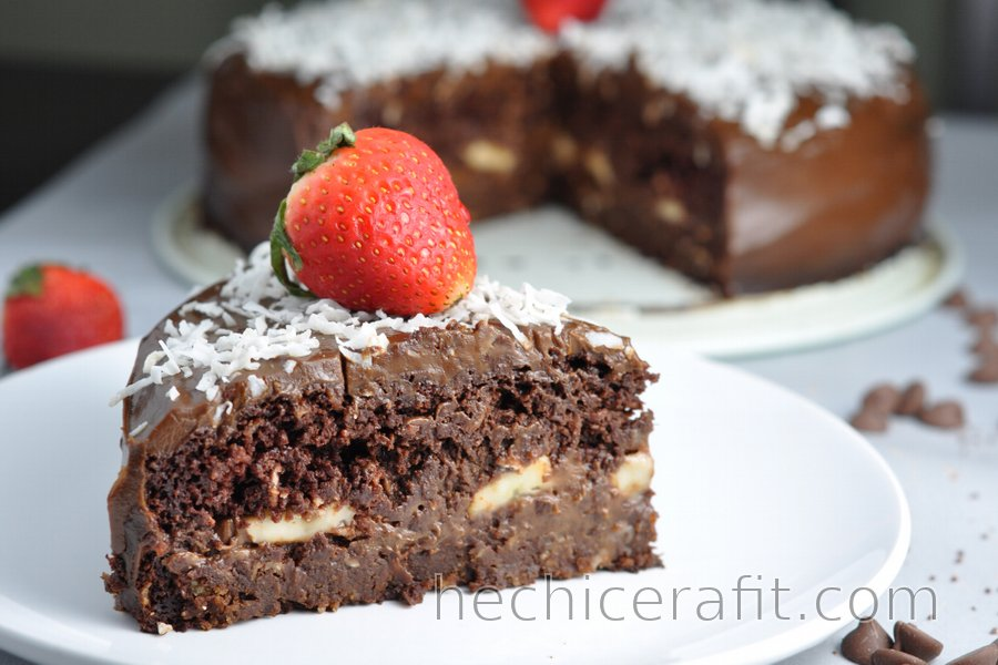 "Pastel Fitness de Chocolate Saludable ""Chocoholic"""