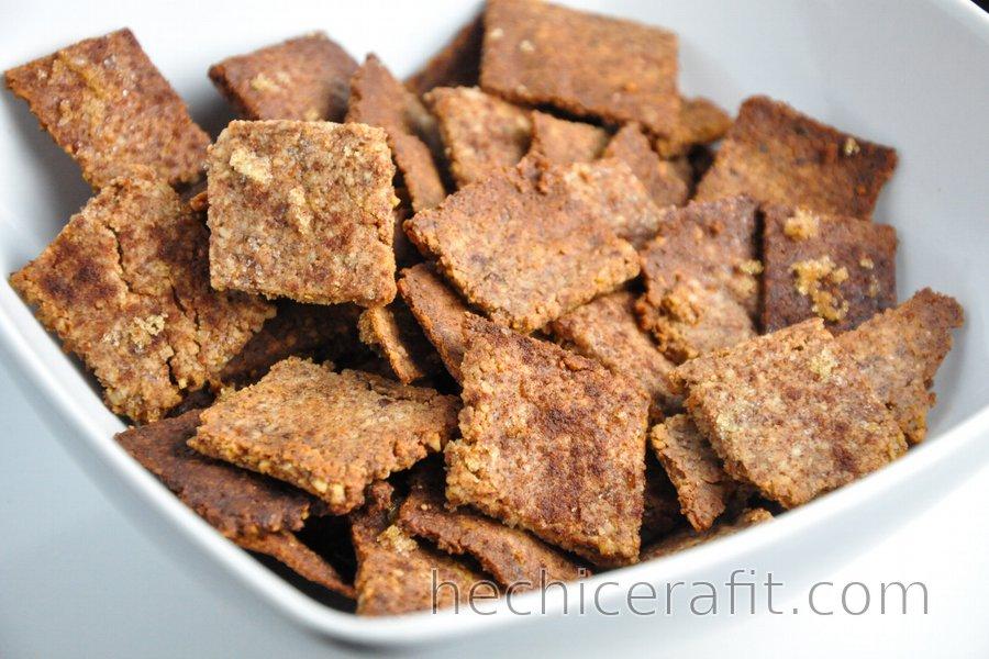 Cereal de canela saludable (sin gluten)
