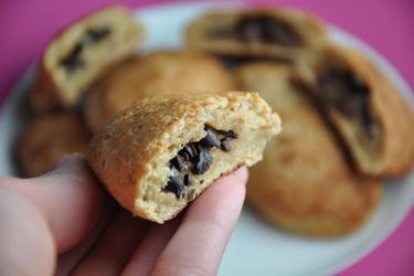 Pastel integral de chocolate con nibs de cacao - Pain au Chocolat