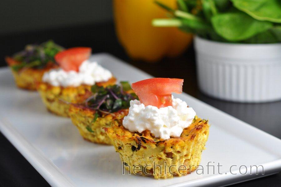 Panecillos de Tofu Saludables (Salados, Sin Gluten, Sin Huevo)