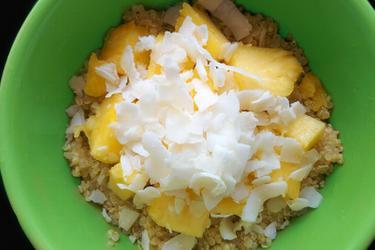 Quinoa exótica de coco y piña