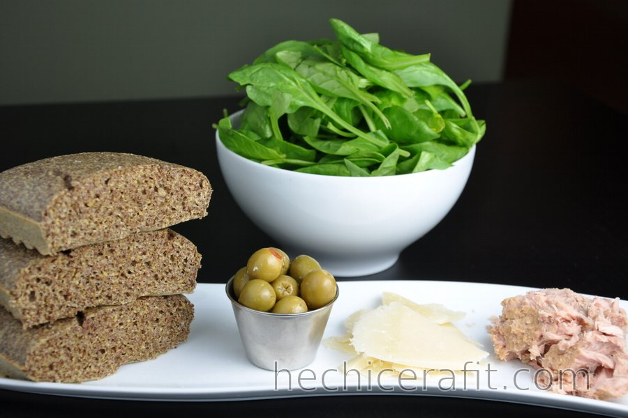 Pan de linaza sin harina