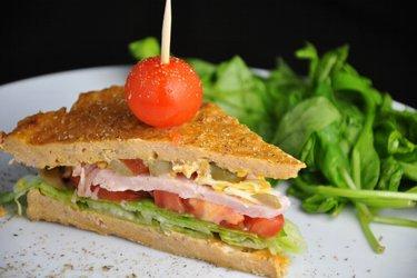 Sándwich de atún saludable (sin gluten)