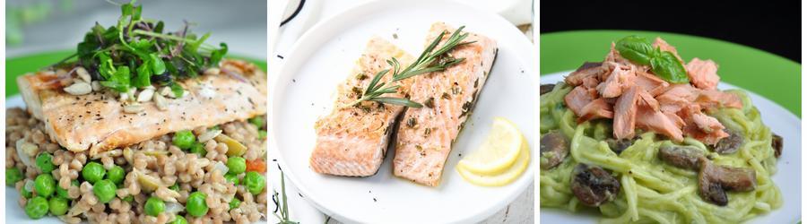 Recetas saludables de ensaladas con salmón