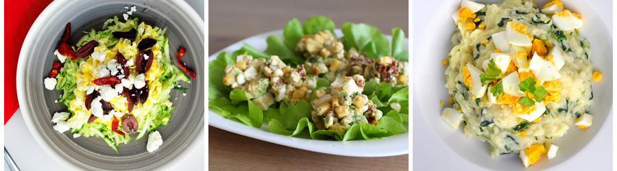 Recetas saludables de ensaladas con huevo