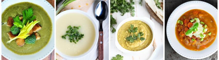 Recetas de sopas altas en proteínas