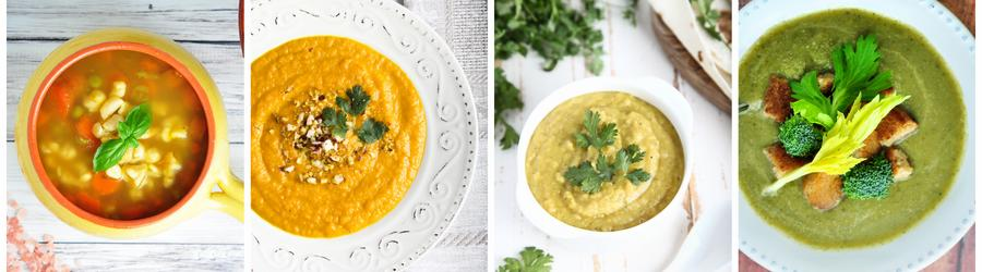Recetas de sopas bajas en calorías para adelgazar
