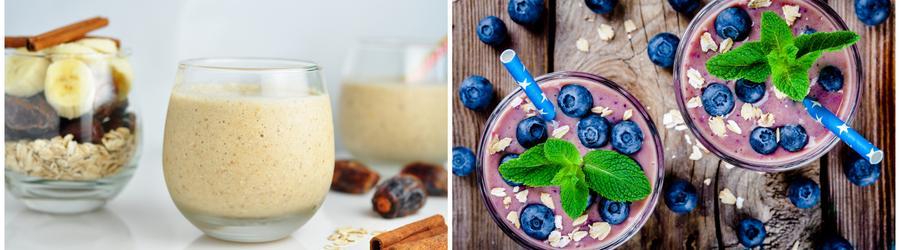 Batidos y bebidas altos en proteínas