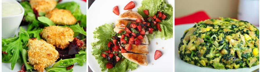 Recetas con pollo altas en proteínas