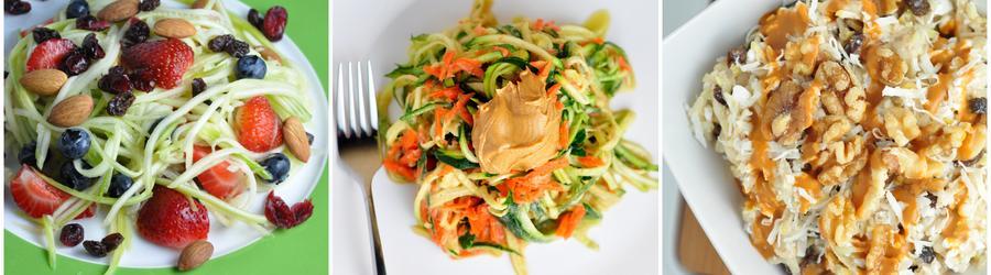 Recetas saludables y veganas con calabacín