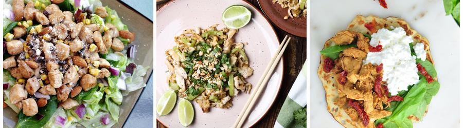 Recetas con pollo bajas en carbohidratos