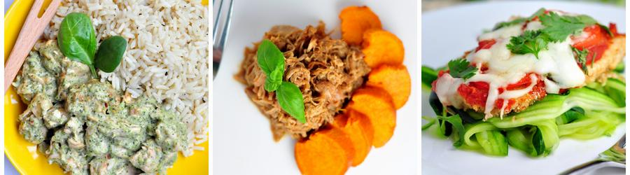 Recetas con pollo sin gluten