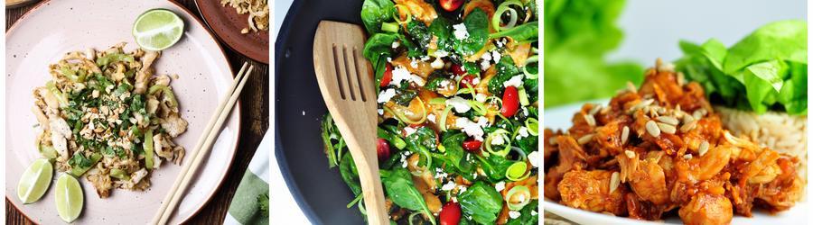 Recetas con pollo bajas en calorías para adelgazar
