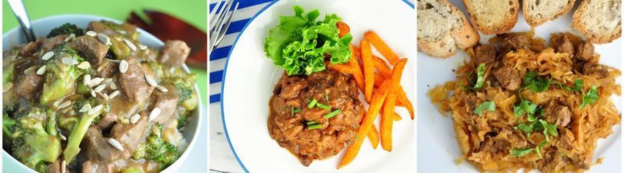 Recetas con carne de res bajas en calorías
