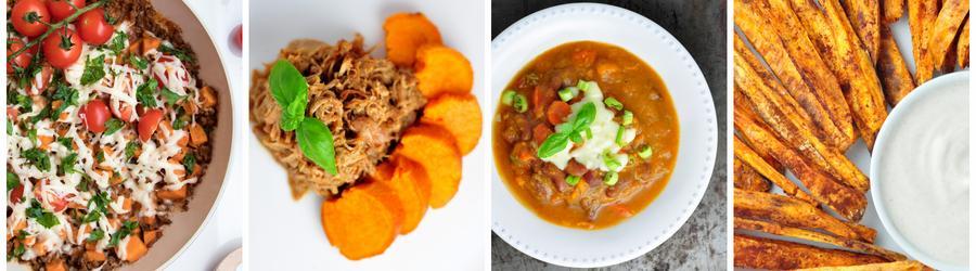 Recetas con batata dulce bajas en calorías para adelgazar