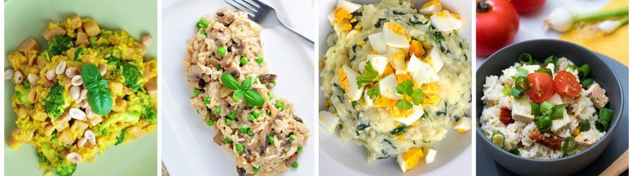Recetas con arroz sin gluten