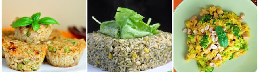 Recetas con arroz bajas en carbohidratos