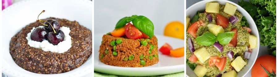 Recetas saludables con quinoa sin gluten