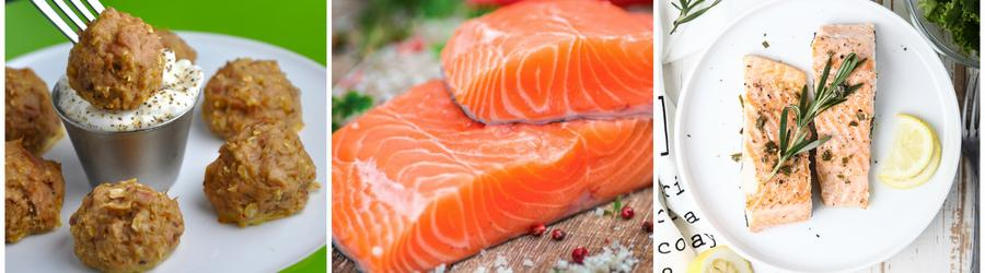 Recetas con salmón bajas en carbohidratos