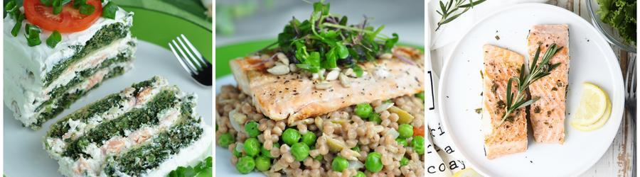 Recetas con salmón altas en proteínas