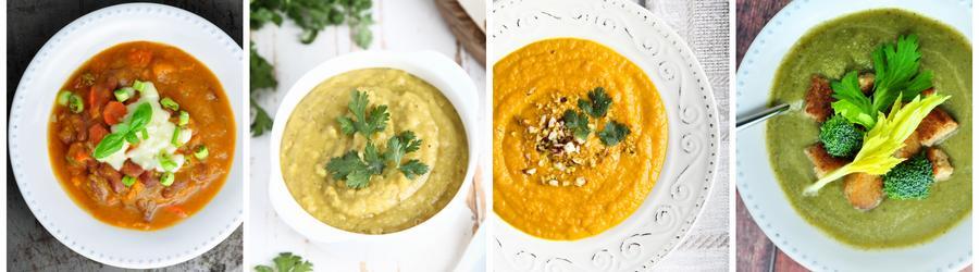 Recetas de sopas saludables