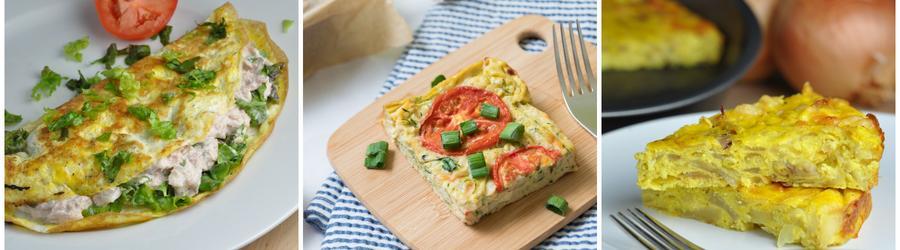 Recetas con huevo bajas en calorías para adelgazar