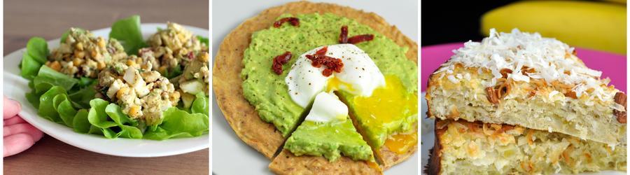 Recetas saludables con huevo sin gluten