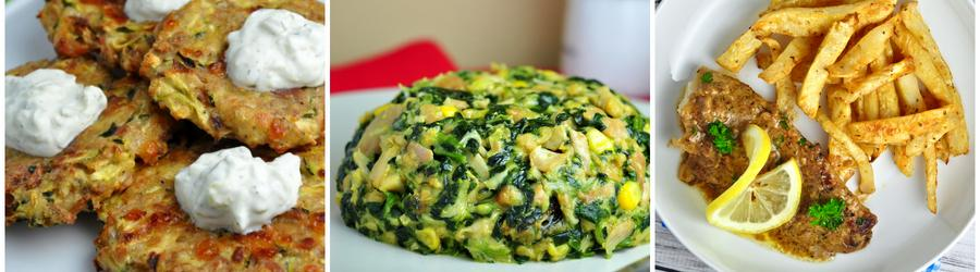 Recetas con vegetales bajas en carbohidratos