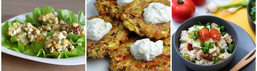 Recetas con vegetales altas en proteínas