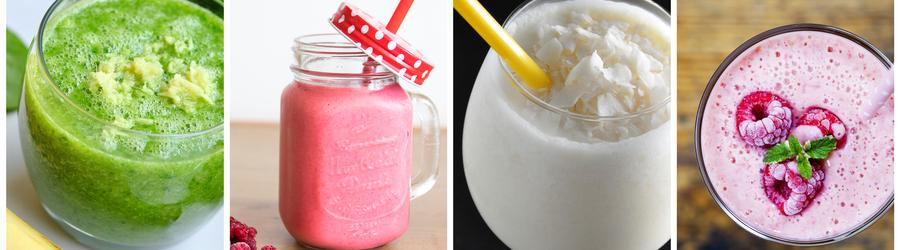 Recetas saludables de batidos y bebidas