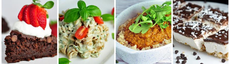 Recetas saludables sin frutos secos