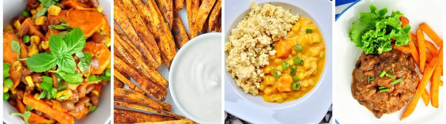 Recetas saludables con batata dulce