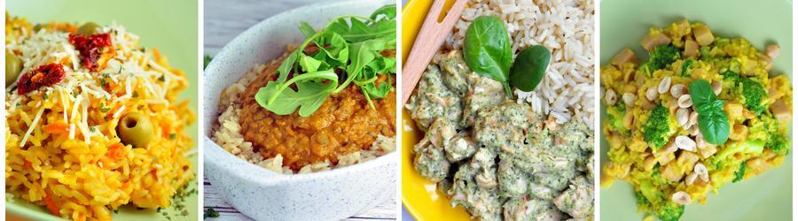 Recetas saludables con arroz