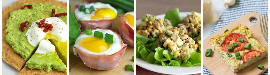 Recetas saludables y fáciles con huevo