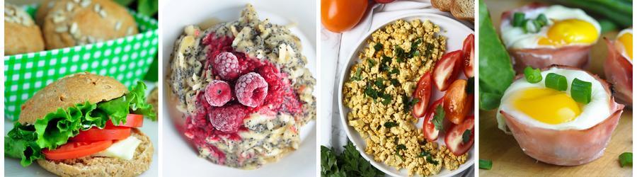 Recetas de desayunos saludables sin lácteos