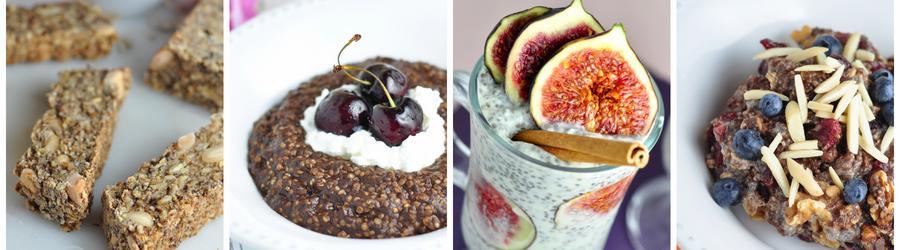 Recetas saludables de desayunos con semillas de chía
