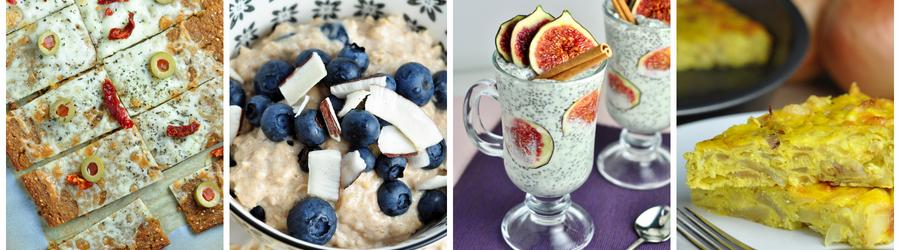 Recetas de desayunos sin gluten