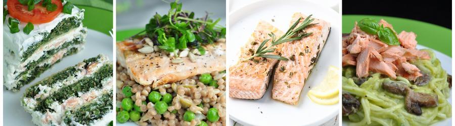 Recetas saludables de almuerzos y cenas con salmón