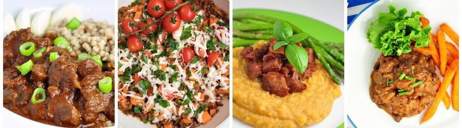 Recetas saludables de almuerzos y cenas con carne de res
