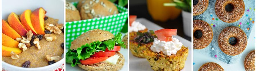 Receta saludables de desayunos sin huevo
