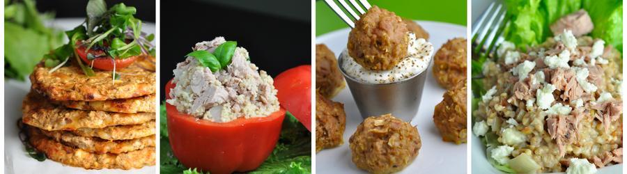 Recetas saludables de almuerzos y cenas con atún