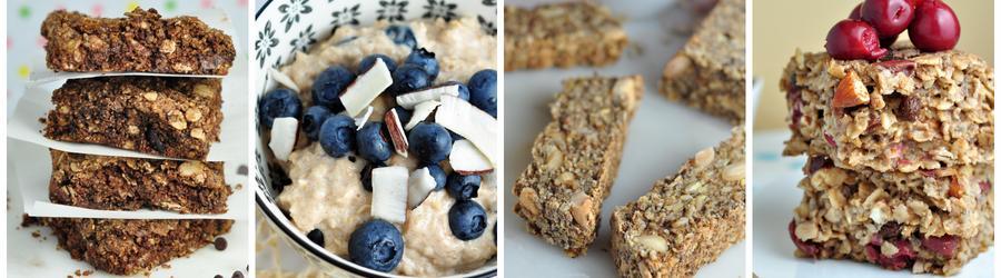 Recetas de desayunos con avena